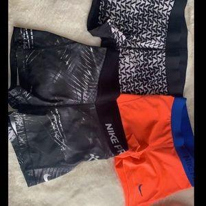 Nike/Victoria Secret shorts